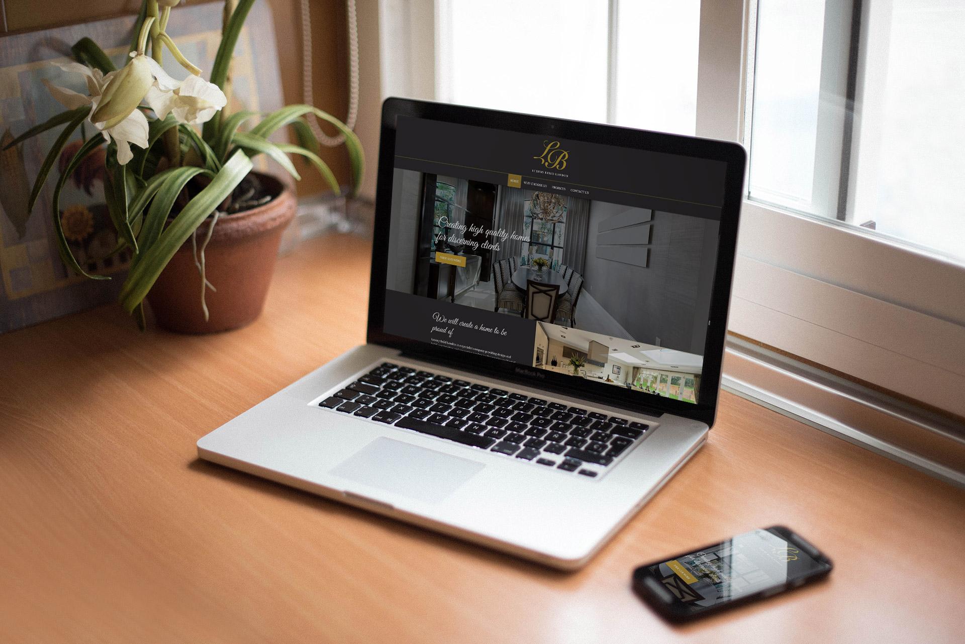 marketing to china - luxury build london website