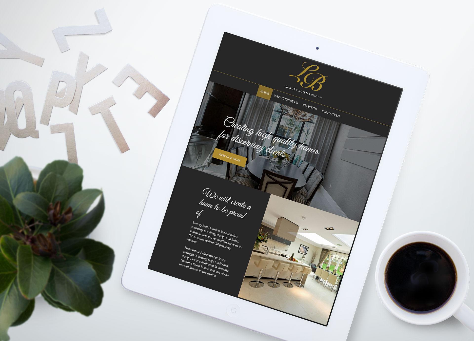 marketing to china - luxury build london ipad